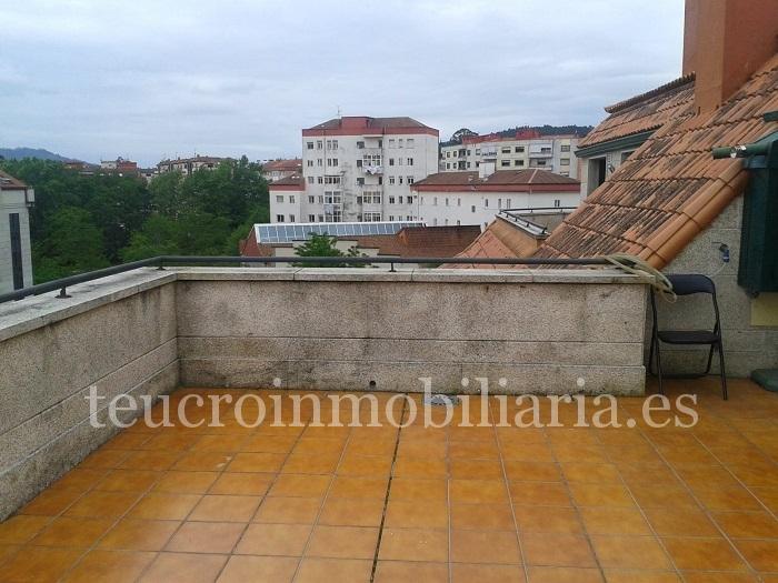 Ático en plaza Curtidoira en Pontevedra