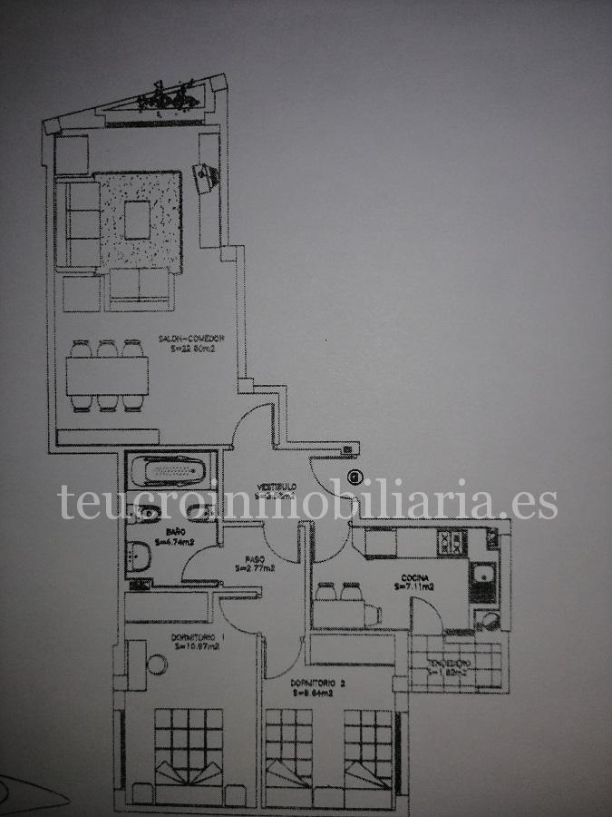 Atención inversores!!! Piso de 2 habitaciones con garaje en Gorgullón.
